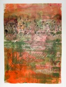 Je t'écris 1 - 50 x 70 cm - 2011