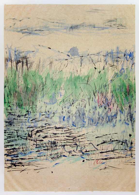 Traces - 50 x 70 cm - 2012