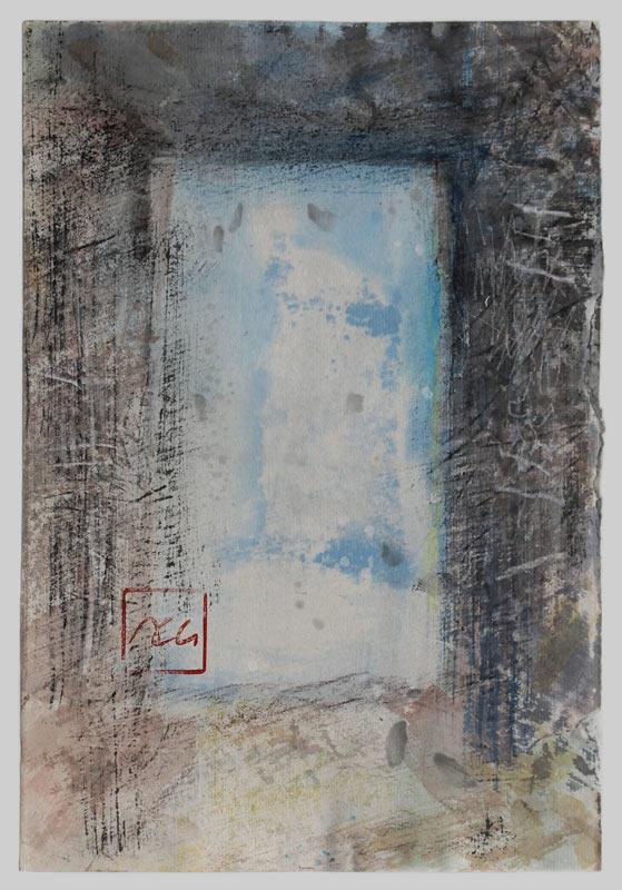 Entrez dans le rêve (1) – 18 x 26 cm – 2019